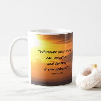 Vat op & geloof. Motiveer, inspireer, LOA, Koffiemok