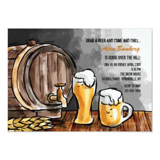 Vat van de Uitnodiging van het Bier
