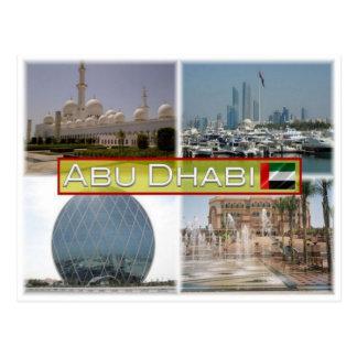 VE Verenigde Arabische Emiraten - Abu Dhabi - Briefkaart