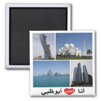 VE Verenigde Arabische Emiraten Abu Dhabi I de Magneet