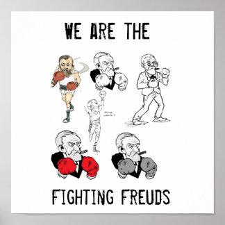 Vechtend Poster Freuds