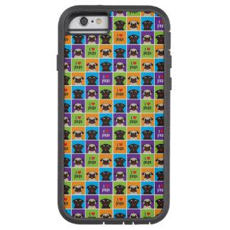Vechtlustige Giften I Pugs van de Liefde iphone 6 Tough Xtreme iPhone 6 Hoesje