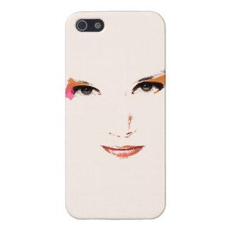 Vector Gezicht iPhone 5 Covers