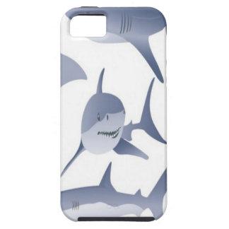Vector haaienontwerp Case-Mate iPhone 5 hoesjes