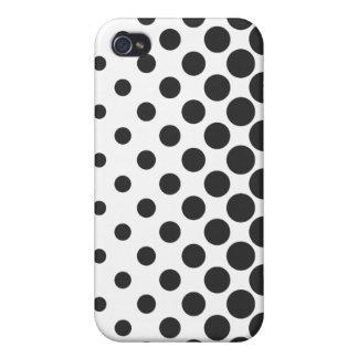 Vector Halftone iPhone 4 van het Stip geval