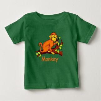 Vector illustratieAap Baby T Shirts