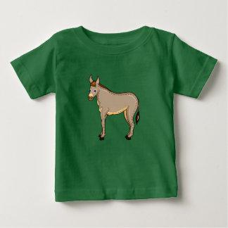 Vector illustratieEzel Baby T Shirts