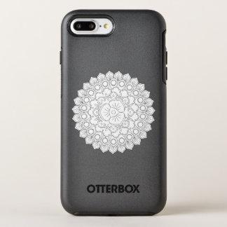 Vector Mooie Mandala, het Gevormde Element van het OtterBox Symmetry iPhone 8 Plus / 7 Plus Hoesje