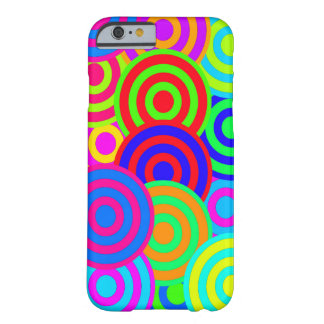 Vector Retro Patroon Barely There iPhone 6 Hoesje