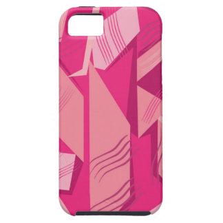 Vector Roze patroon Case-Mate iPhone 5 Hoesje