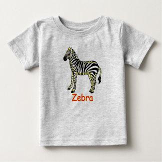 Vector Zebra Baby T Shirts