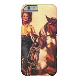 Veedrijfster op Haar Paard Barely There iPhone 6 Hoesje