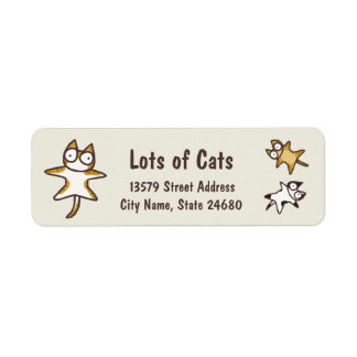 Veel Katten Etiket