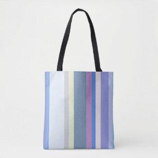 Veelkleurig Geel/Grijs/Beige/Roze/Paars/Blauw Draagtas