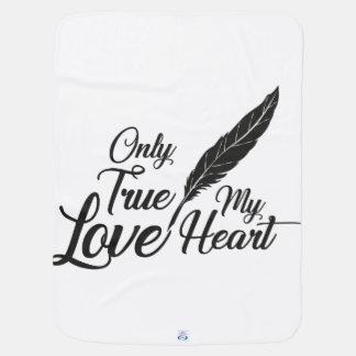 Veer van de Liefde van de illustratie de Ware Inbakerdoek
