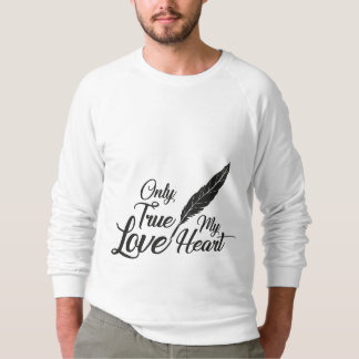Veer van de Liefde van de illustratie de Ware Sweater