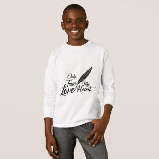Veer van de Liefde van de illustratie de Ware T Shirt