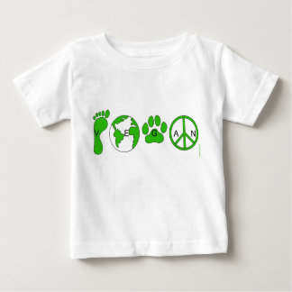 Vegan kid baby t shirts