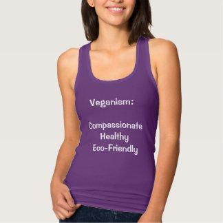 veganism: medelevend, gezond, milieuvriendelijk tanktop