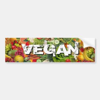 Veganist Bumpersticker