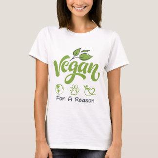 Veganist voor een BasisT-shirt van het Sleeve van T Shirt