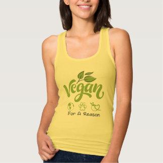 Veganist voor een Tanktop van de Reden
