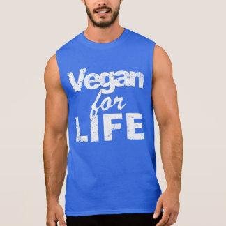 Veganist voor het LEVEN (wht) T Shirt