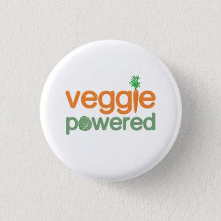 Veggie Plantaardige Aangedreven Vegetariër Ronde Button 3,2 Cm