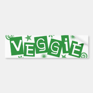 Veggie, voor de Sticker van de Bumper van