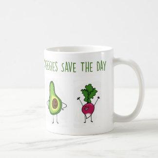 Veggies bewaart de Mok van de Avocado en van de