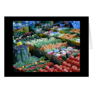 Veggies bij Markt Atwater Briefkaarten 0
