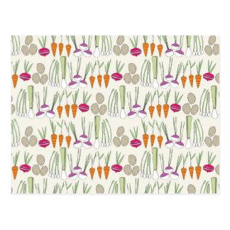 Veggies-horizontale Briefkaarten