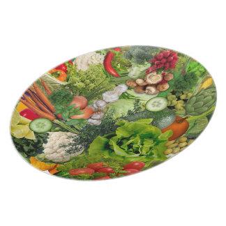 Veggies Melamine+bord
