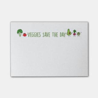 Veggies sparen de Nota's van de Post-it van de Dag Post-it® Notes