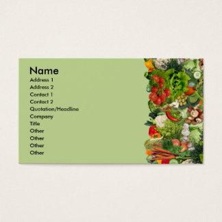 Veggies Visitekaartjes