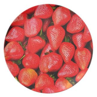 Vele Aardbeien! Bord
