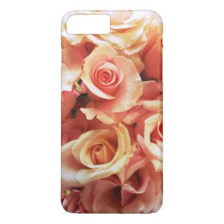 Vele roze rozen iPhone 7 plus hoesje