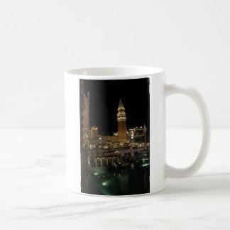 Venetiaan bij nacht koffiemok