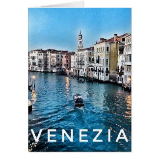 Venetiaans Leeg Wenskaart