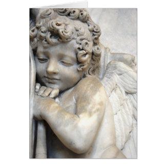 Venetiaanse Engel Wenskaart