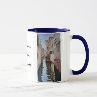 """""""Venetiaanse Kanalen """" Mok"""