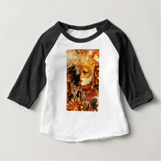 Venetiaanse maskers baby t shirts