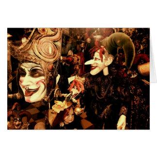 Venetiaanse Maskers Kaart