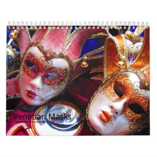 Venetiaanse Maskers Kalender