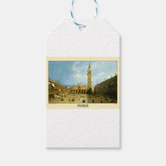 Venetië 1720 cadeaulabel