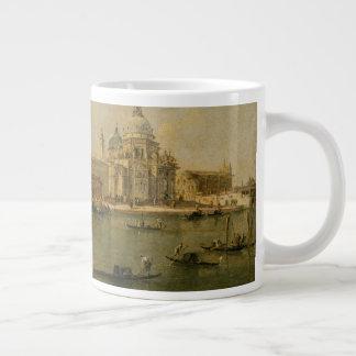 Venetië de dellaBegroeting van Dogana en van Santa Grote Koffiekop