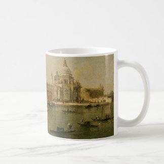 Venetië de dellaBegroeting van Dogana en van Santa Koffiemok