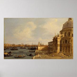 Venetië: DellaBegroeting van Santa Maria Poster