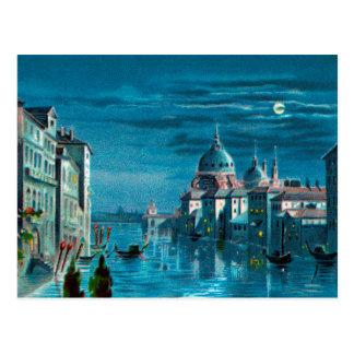 Venetië door Maanlicht Briefkaart
