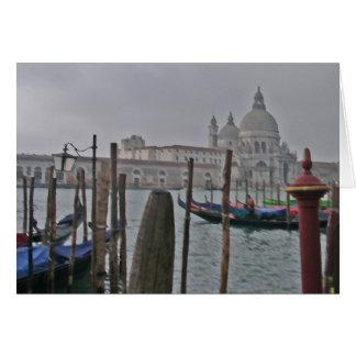 Venetië - Gondels Wenskaart